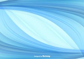 Blue Abstract Swish Vector Background