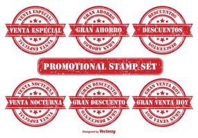 Promotional Badge Set in Spanish