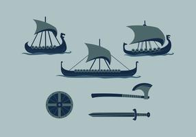 FREE VIKING SHIP 2 VECTOR