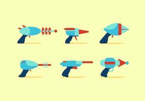 VECTOR LIVRE DE LASER GUN 1