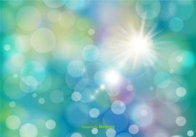 Beautiful Abstract Bokeh Background  vector