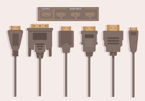 Vector de HDMI