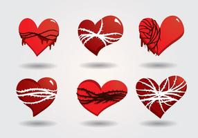 Vecteur coeur sacré