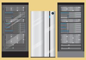Server-Rack-Vektoren