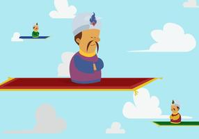 Gratis Magic Carpet Vector