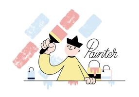 Painter Vector