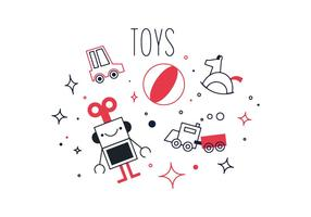 Free Toys Vector