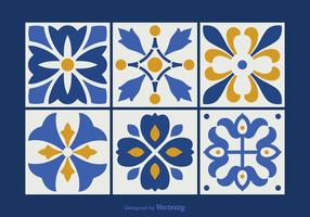 Azulejos gratuitos do vetor Talavera