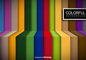 Kleurrijke Strepen Vector Achtergrond