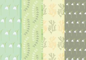 Gratis Spring Flower Vector Patterns