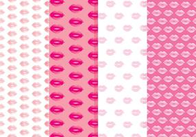 Gratis Lips Vector Mönster