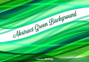 Abstract Green Vector Hintergrund
