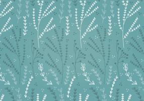Free Teal Spring Flower Vector Patterns