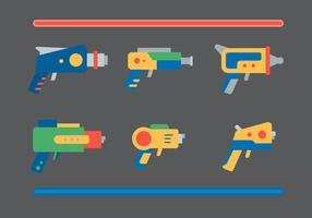 Free Laser Gun Vector #1