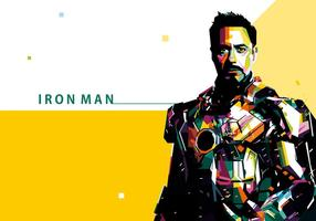 Iron Man Vector Portrait