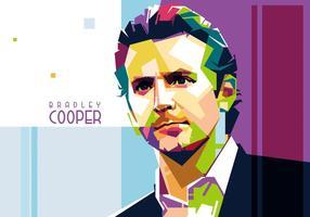 Vektor Bradley Cooper Porträtt