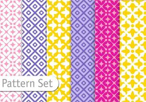 Colorful-pattern-set-vector