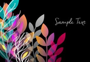 Decorative Floral Background Design vector