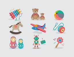 Memorable Toys Vector