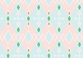 Pastel Geometric Pattern Background vector