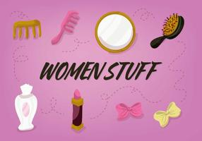 Gratis Women Stuff Vector