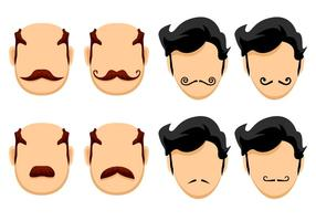 Happy Movember Vectoren