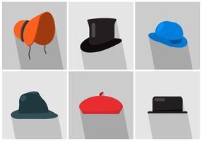 Chapéus de vetores
