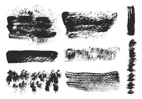 Vector Eroded Brushes Strokes