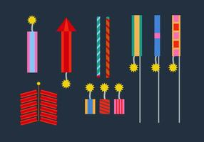 Free Fire Crackers Vectors