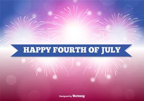 Fourth of July Illustration vector