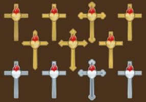 Sacred Cross Vectors