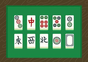 Mahjong Vector Cards