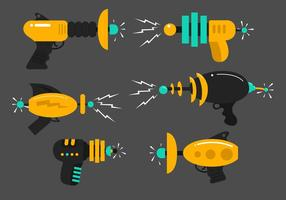 Laser Gun Vektoren