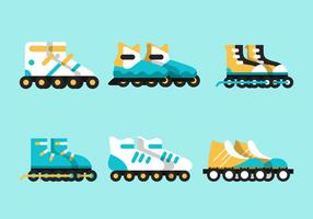 Rollerblade vector sets