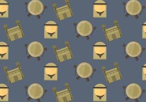 Free Makkah Vector Pattern #2