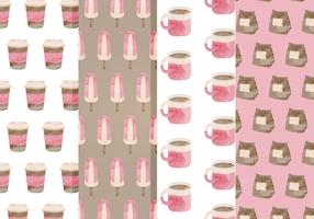 Free Cafe Vector Patterns