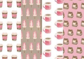 Free Cafe Vektor Muster