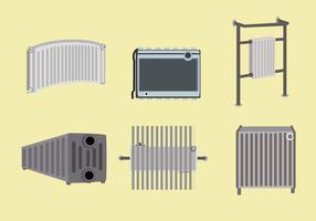 Vecteur d'équipement de radiateur