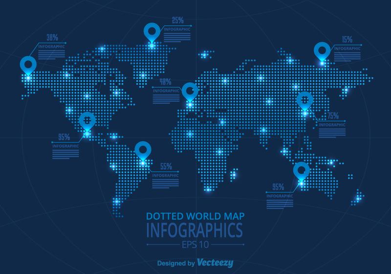 Vector World Map Infographic Download Free Vector Art Stock Graphics Images