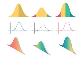 Free Bell Curve Vektor-Illustration