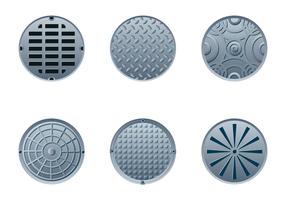 Livre Manhole Vector