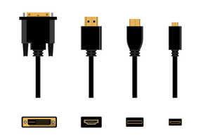Vector libre de HDMI
