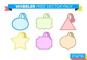 Wobbler gratis vector pack