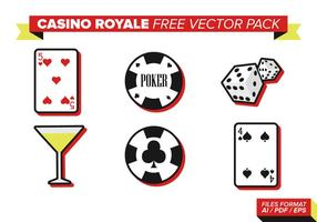 Pack de vecteur gratuit casino royale