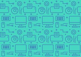 Gratis Gadget and Technology Vector Pattern # 1