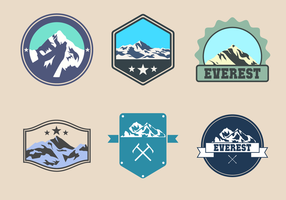 Vector Everest Logo gratuito