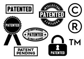 Fri patentvektor