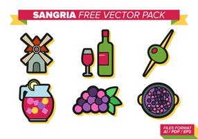 Sangria Gratis Vector Pack