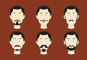 Movember Moustache Vectors