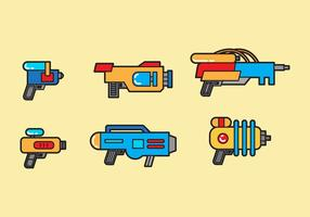 Free Water Gun Vector #2